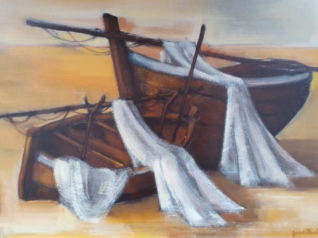 Échouage-les barques