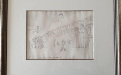 1994 La cour de ferme